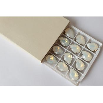 Капля White Opal в оправе (хрусталь)