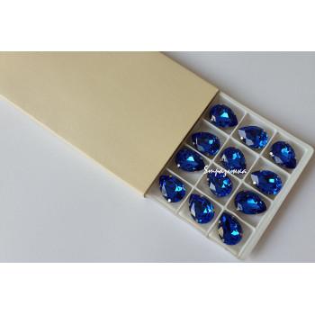 Капля Sapphire в оправе (хрусталь)