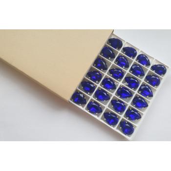Капля Cobalt в оправе (хрусталь)