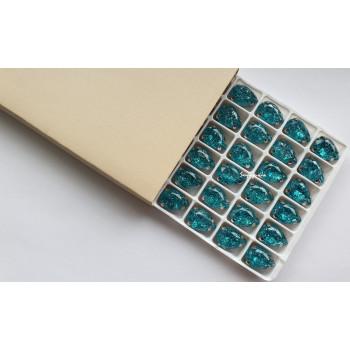 Капля с эффектом битого стекла Blue Zircon