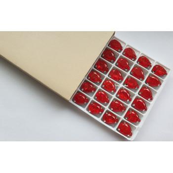 Капля с эффектом битого стекла Red
