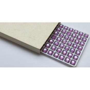 Шатон в цапах Jelly Lilac 8 мм.