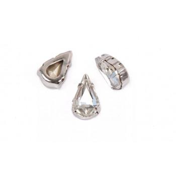 Pear Shaped Crystal в оправе (хрусталь)