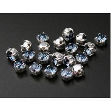 Шатон с кристаллом Swarovski Denim Blue