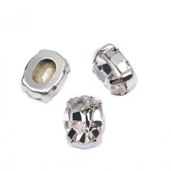 Oval Crystal в оправе (хрусталь)