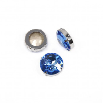 Round Stones Light Sapphire - 27 мм