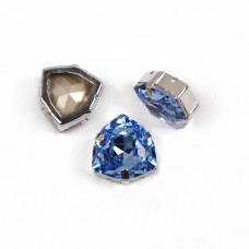 Trilliant Light Sapphire в оправе (хрусталь)