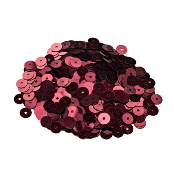 Пайетки плоские 4 мм. Bordeaux Metallizzati (4071)