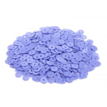 Пайетки плоские 3 мм. Glicine Opaline (5084)