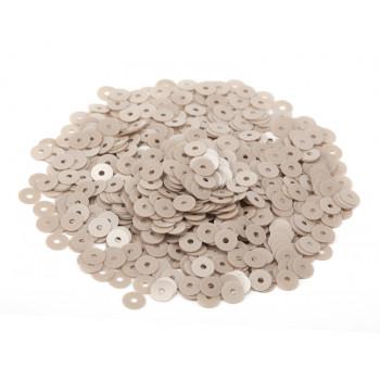 Пайетки плоские 3 мм. Nocciola Opaline (8234)