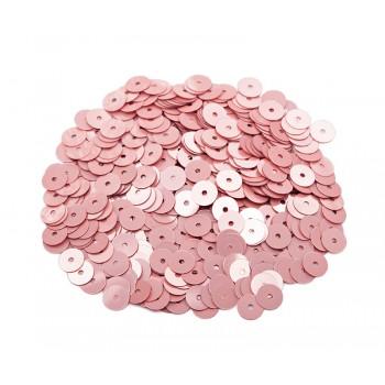 Пайетки плоские 3 мм. Rosa Antico Metal (3029)