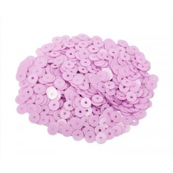Пайетки плоские 3 мм. Rosa Fucsia Opaline (3504)